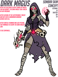 The Dark Magus (Sombra Skin Concept) by Vethrax