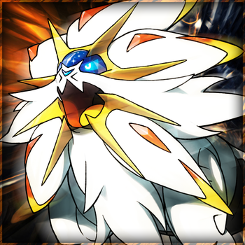 Pokemon Sun and Moon: Solgaleo Icon by Pheonixmaster1