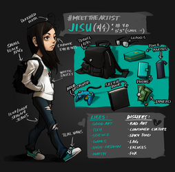 #MeetTheArtist: Jisu by JisuArt