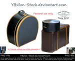 Hat Boxes and Suitcase by YBsilon-Stock by YBsilon-Stock