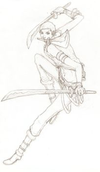 Swordsman of the StrawHat Pirates by EternityBeckons