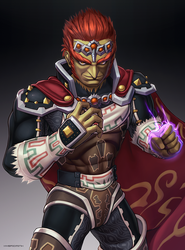 Ganondorf (Ultimate) by hybridmink