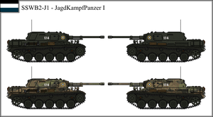 ANS - Kh - JaKaPz I Light Tank Destroyer by Liquid-Nitrogen