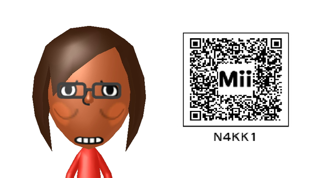 My Other Mii (with bonus qr code) by DiskHoax