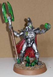 Necron Lord by DedicatedBrowser
