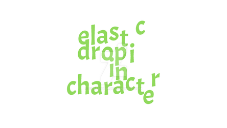 Elastic drop in character  Adobe Edge Animate  Tut by Greenafik