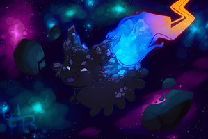 Space Rock DTA - Like a Comet by Journeying-Warrior