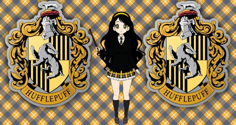Myself in HufflePuff by roseprincessmitia