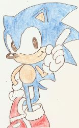 Sonic in the old comics by Sonic-for-ever
