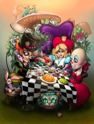 A MAD Tea Party by DennyKotian