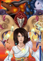 Fanzine Jeux videos FFX by Yuna-Hayame