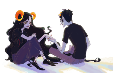 aradia and sollux by marika