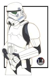 Stormtrooper by NORVANDELL