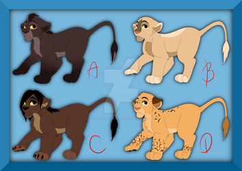 Adoptable cubs CLOSED by BullerThePirate