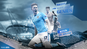 Kevin De Bruyne 2015/16 Wallpaper by RakaGFX