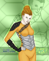 April O' Neil 05092010 by BLUEamnesiac