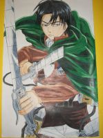 Levi Poster by HetaliaAmore