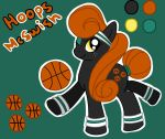 Hoops McSwish by AwesomeBlossomPossum