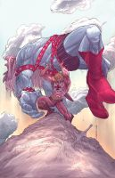 He-Man by johnnymorbius