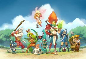Dofus illustration by Saindoo