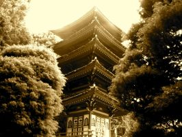 japanese building by CigarettesAndRamen