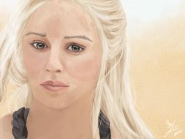 Game of Thrones - Daenerys (Khalessi) by plainage