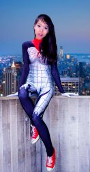 Silk - Legs for days by MercPhotography