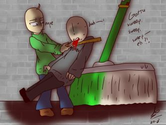 'Boutta SWEEP/SPANK/SWING/'SCAPE (Baldi's Basics) by AvrielJJ