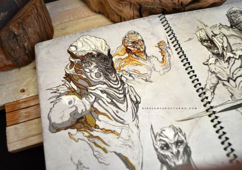 Sketchbook :) by Dibujante-nocturno