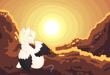 Sunrise On Clouds by CrystallLight