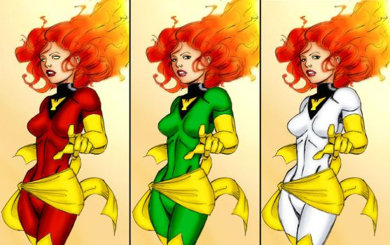 Phoenix - Jean Grey by danes-sweety