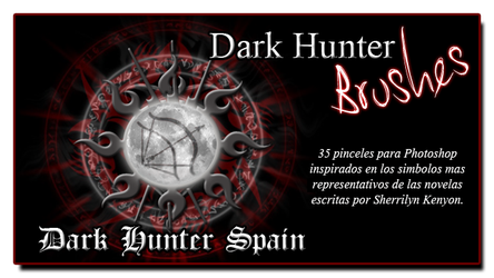Dark Hunter Brushes by Dark-Hunter-Spain