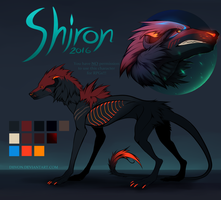 Shiron Reference Sheet by Diivon