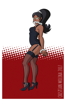Lingerie Cass, plus pearls by CristianDraws