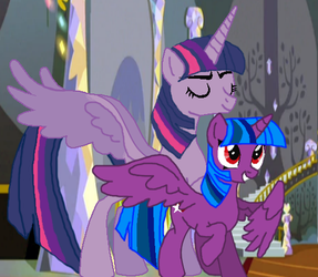 Princess of Friendship and Princess of Love by LadySesshy