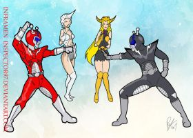 Inframan vs Dark Inframan by Inspector97
