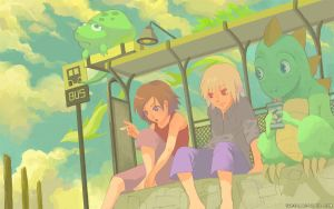 Bus Stop by ethe