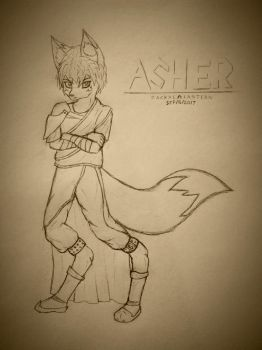 Asher (Gold) by Kain-Eralf