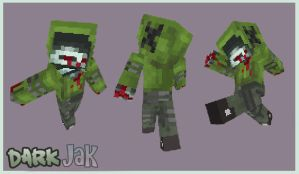 Minecraft skin - Hunter Zak by ZombiDJ