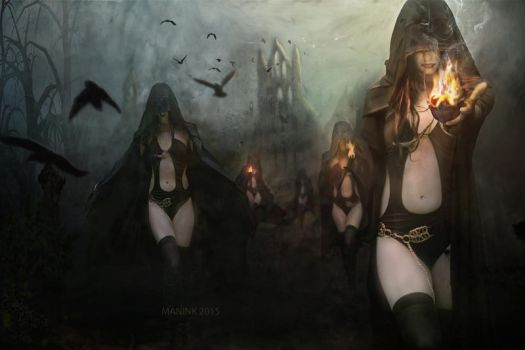 Sisters Of Night by Madink2000