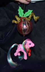 Parasol ornament christmas by Soulren