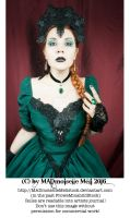 The Emerald Queen Stock 004 by MADmoiselleMeliStock