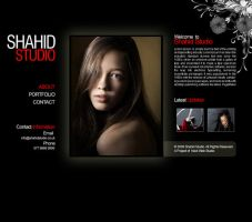 Photography website Design by pakiboy