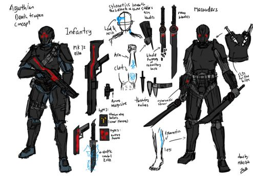 Agarthian Death Troopers Concept by testabuddy05