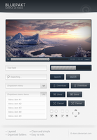 Bluepackt - Free web elements by ekanz