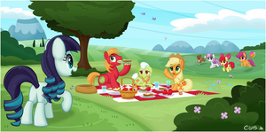 Picnic with a Pony Pop-Star by CTB-36