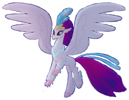 Queen Novo Hippogriff Form by venjix5