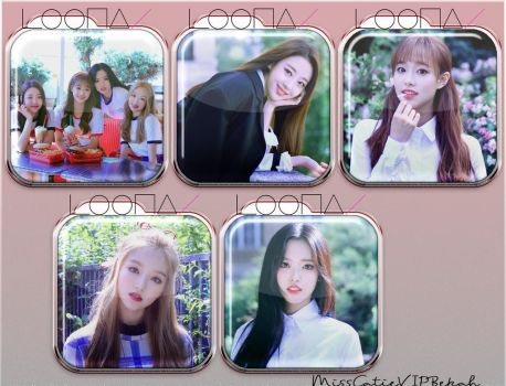 LOONA yyxy Icons by MissCatieVIPBekah