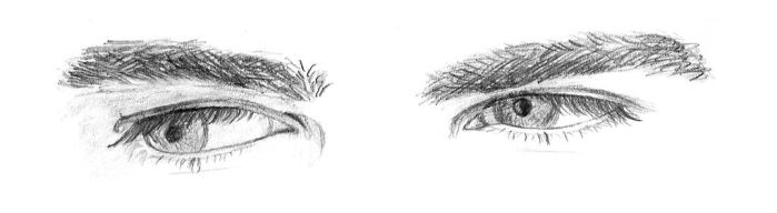 Zachary's eyes by axanne