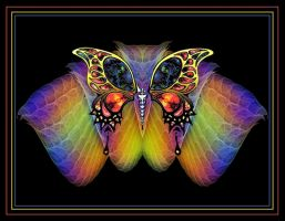 Fractal Butterfly by Thelma1
